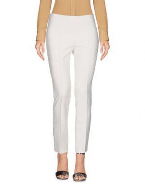 Повседневные брюки ELIZABETH AND JAMES. Цвет: белый