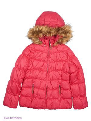 Куртка Luhta. Цвет: розовый, красный, коралловый