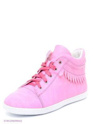 Кеды Bagira. Цвет: розовый