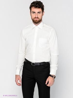 Рубашка MONDIGO. Цвет: молочный