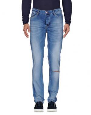 Джинсовые брюки WORN BY. Цвет: синий