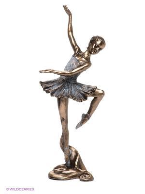 Статуэтка Балерина Veronese. Цвет: серо-зеленый