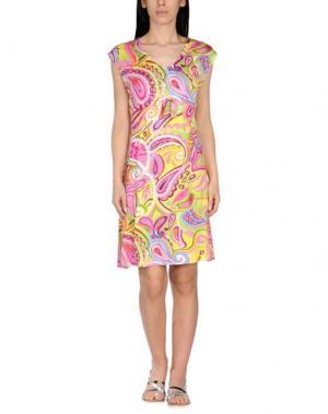 Пляжное платье ANTIGEL. Цвет: розовый