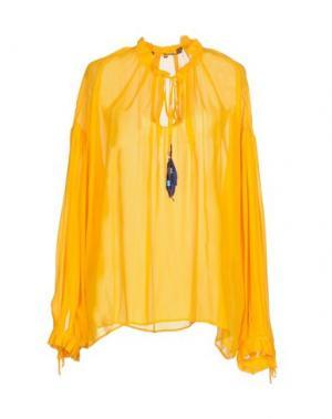 Блузка SPACE STYLE CONCEPT. Цвет: желтый
