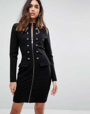 Supertrash Платье Jacira. Цвет: черный