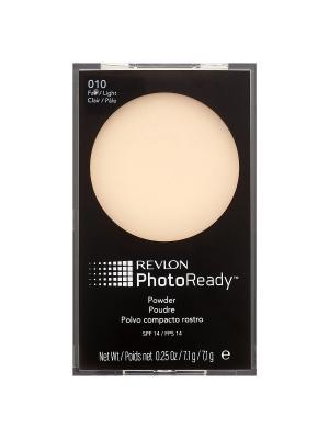 Пудра для лица Photoready Powder, Light 10 Revlon. Цвет: светло-бежевый