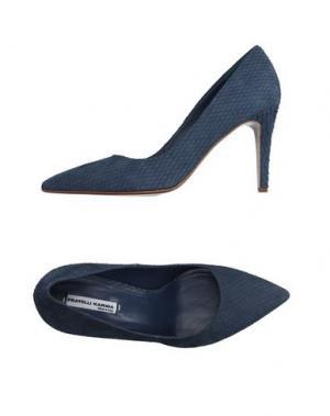 Туфли FRATELLI KARIDA. Цвет: синий