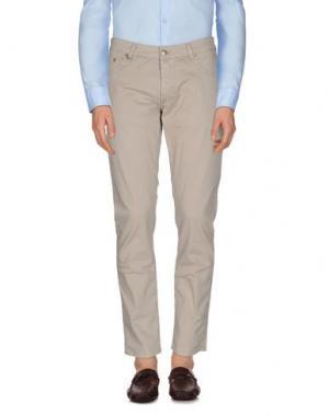 Повседневные брюки DW⁵. Цвет: бежевый