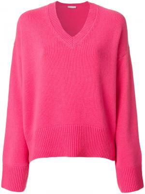 Джемпер Mia Giada Benincasa. Цвет: розовый и фиолетовый