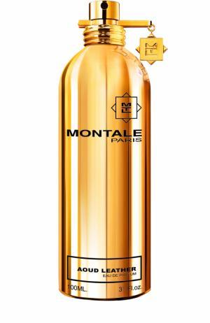Парфюмерная вода Aoud Leather Montale. Цвет: бесцветный