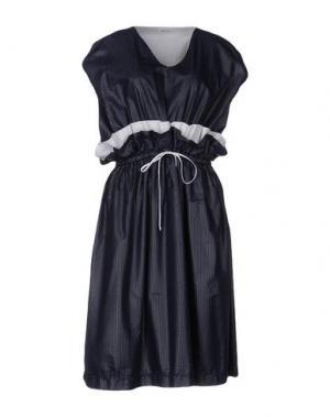 Платье длиной 3/4 ARTHUR ARBESSER. Цвет: темно-синий