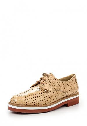 Ботинки La Coleccion. Цвет: бежевый