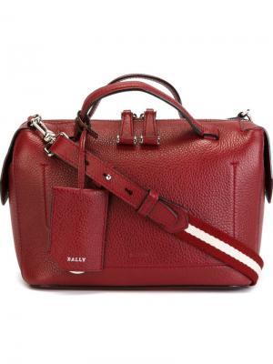 Маленькая сумка-тоут Kissen Bally. Цвет: красный