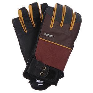 Перчатки сноубордические  Tanto Glove Rust Pow. Цвет: коричневый