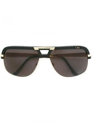 Солнцезащитные очки-авиаторы Cazal. Цвет: чёрный