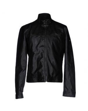 Куртка YES ZEE by ESSENZA. Цвет: черный