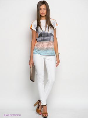 Брюки Vero moda. Цвет: белый