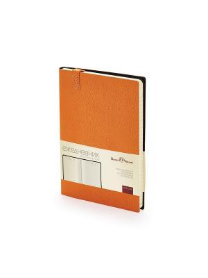 Ежедневник a5 trend (оранжевый) Bruno Visconti. Цвет: оранжевый