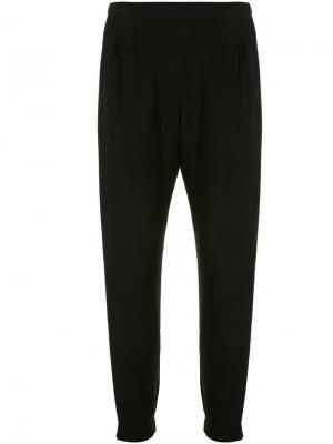 Укороченные спортивные брюки Zero + Maria Cornejo. Цвет: чёрный
