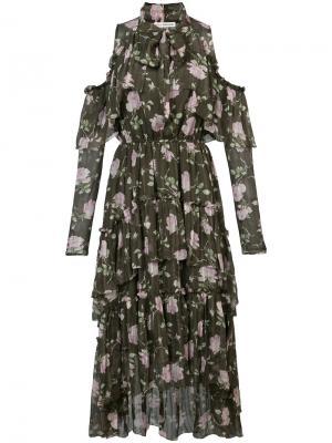 Платье Marion Ulla Johnson. Цвет: зелёный