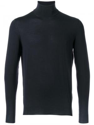Dolcevita turtleneck jumper Drumohr. Цвет: синий
