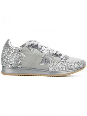 Tropez sneakers Philippe Model. Цвет: металлический