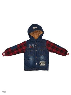 Куртка Kidly. Цвет: красный, синий