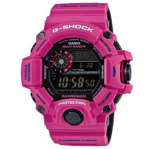 Электронные часы  Premium Gw-9400Srj-4E Pink Casio G-Shock. Цвет: розовый