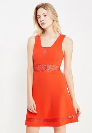 Платье Jennyfer. Цвет: красный