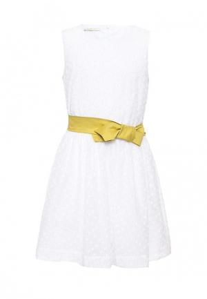 Платье Liu Jo Junior. Цвет: белый