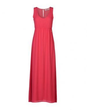 Длинное платье FRACOMINA. Цвет: фуксия
