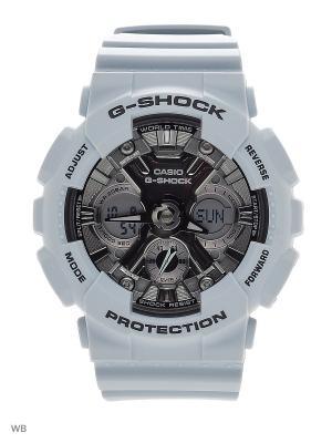 Часы G-Shock GMA-S120MF-2A CASIO. Цвет: светло-голубой