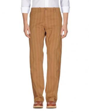Повседневные брюки MARLBORO CLASSICS. Цвет: верблюжий