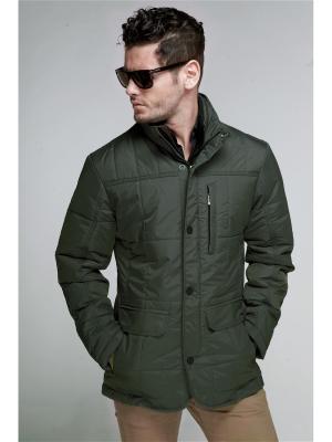 Куртка мужская Nikolom. Цвет: хаки