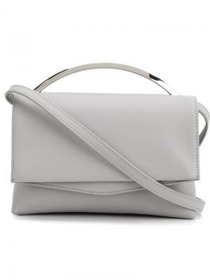 Маленькая сумка на плечо Vanity Eddie Borgo. Цвет: серый