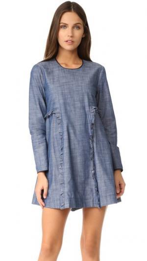 Платье Sophia Piamita. Цвет: голубой
