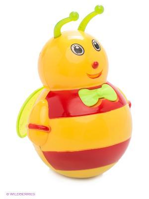 Неваляшка Малышка VELD-CO. Цвет: желтый, красный
