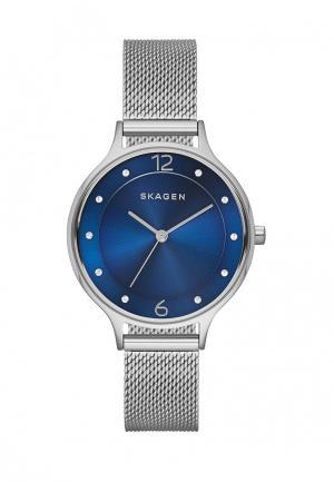 Часы Skagen. Цвет: серебряный