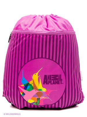 Мешок для обуви ANIMAL PLANET Колибри Action!. Цвет: розовый