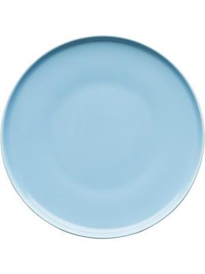 Тарелка Sagaform. Цвет: бирюзовый