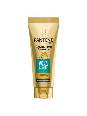 Интенсивный бальзам-ополаскиватель PANTENE Aqua Light 3 Minute Miracle 200мл. Цвет: бронзовый