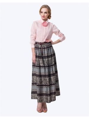 Блузка LO. Цвет: розовый
