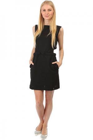 Платье женское  2XHOLD Black Emblem. Цвет: черный