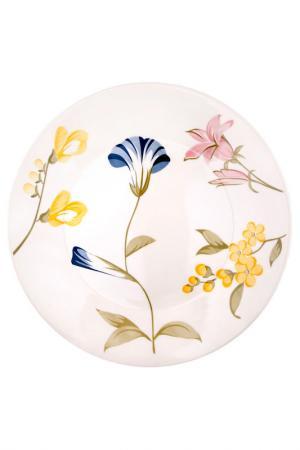 Тарелка обеденная Май 26 см Biona. Цвет: белый