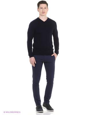 Пуловер Fine Joyce. Цвет: темно-синий