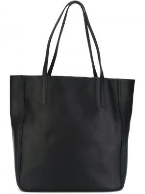 Большая сумка-тоут Shinola. Цвет: синий