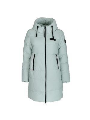 Пальто Snow Guard. Цвет: светло-зеленый