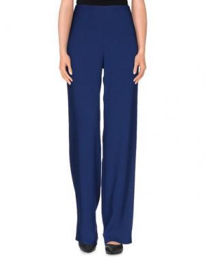 Повседневные брюки BOTONDI MILANO. Цвет: синий