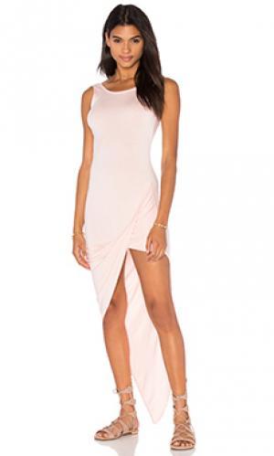 Мини платье dawn De Lacy. Цвет: розовый