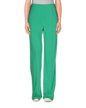 Повседневные брюки LEONARD Paris. Цвет: зеленый